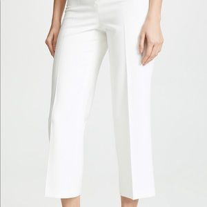 Alice and Olivia high wasted white pants